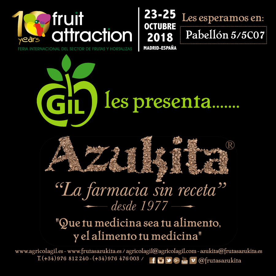 Agrícola Gil en Fruit Attraction 2018